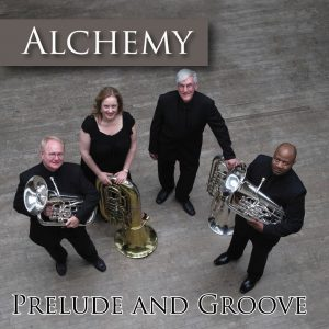 Alchemy CD Cover for Prelude and Groove