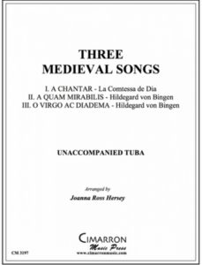 Cover Sheet for Three Medieval Songs