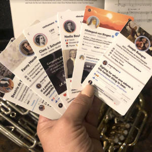 Set of Composer Stickers